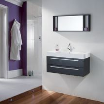 High Gloss Black Bathroom Furniture
